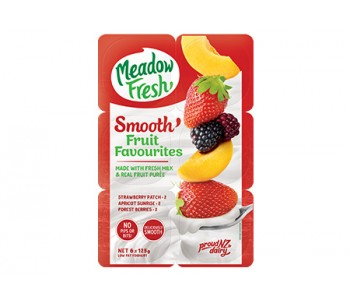 MF SMOOTH Yog 6pk FruitFav
